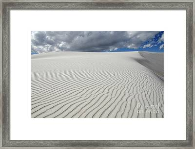 Sand Dune Magic 1 Framed Print by Bob Christopher