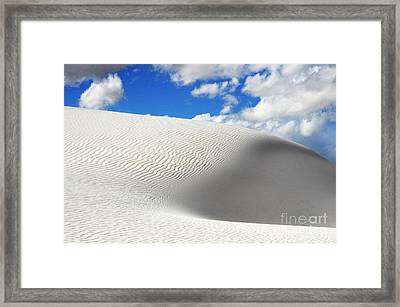 Sand Dune Magic 2 Framed Print by Bob Christopher