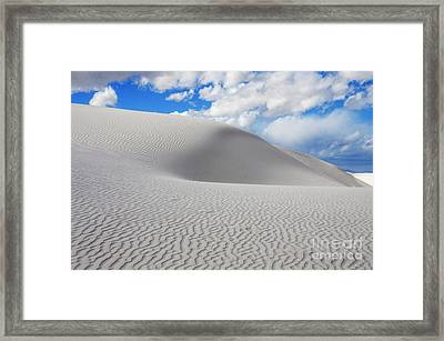 Sand Dune Magic 3 Framed Print by Bob Christopher