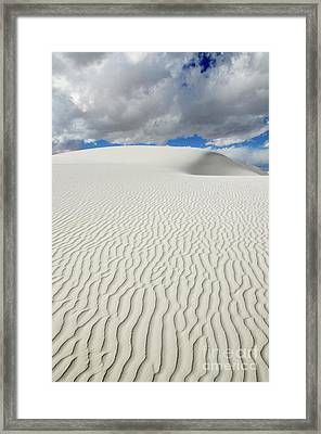 Sand Dune Magic 4 Framed Print by Bob Christopher