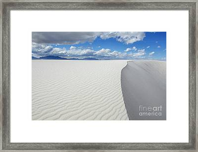 Sand Dune Magic 5 Framed Print by Bob Christopher