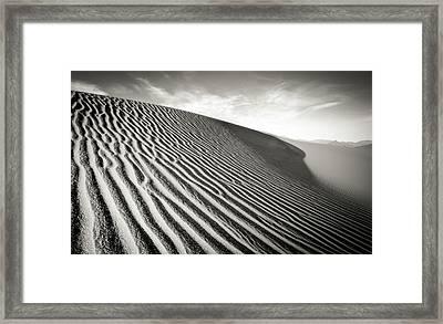 Sand Dune Framed Print by Marius Sipa