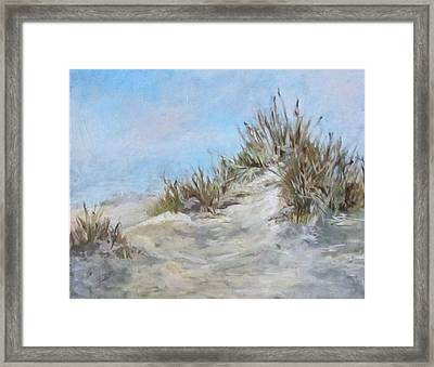 Sand Dunes And Salty Air Framed Print