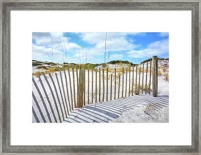 Sand Dunes At Grayton Beach # 2 Framed Print