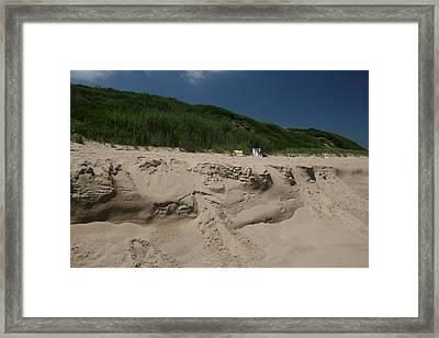 Sand Dunes II Framed Print by Jeff Porter