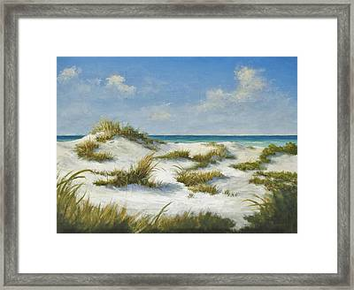 Sand Dunes Morning By Alan Zawacki Framed Print