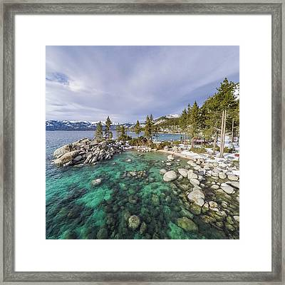 Sand Harbor Views Framed Print