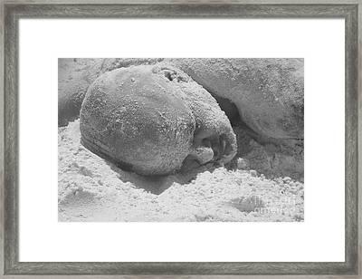 Sand Man Framed Print by WaLdEmAr BoRrErO