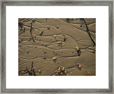 Sand Patterns 1 Framed Print by Eric Workman