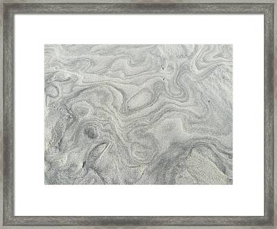 Sand Sculpture Framed Print
