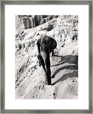 Sand Sculpture Framed Print by Jimmy Bruch