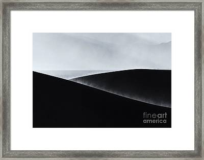 Sand Storm Aurora Framed Print by Mike Dawson