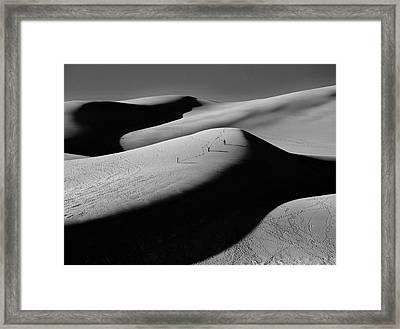 Sand Surfers Framed Print