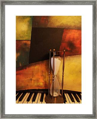 Sand Through The Hourglass Framed Print