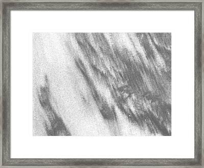 Sand1 Framed Print by Evguenia Men