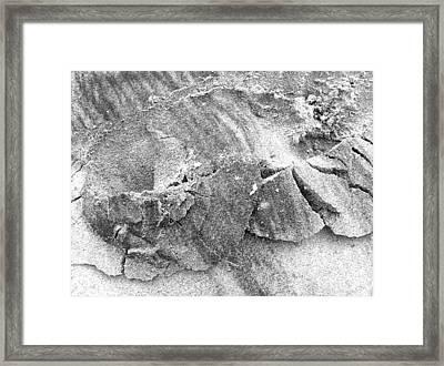 Sand2 Framed Print by Evguenia Men