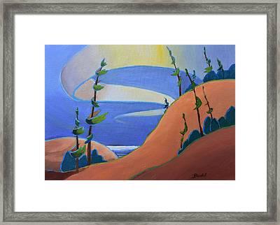 Sandbanks Framed Print