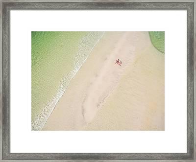 Sandbar Time Framed Print
