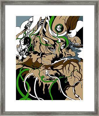 Sandbox Framed Print by Craig Tilley