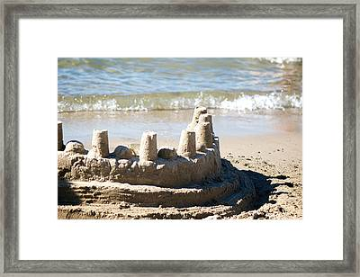 Sandcastle  Framed Print by Lisa Knechtel