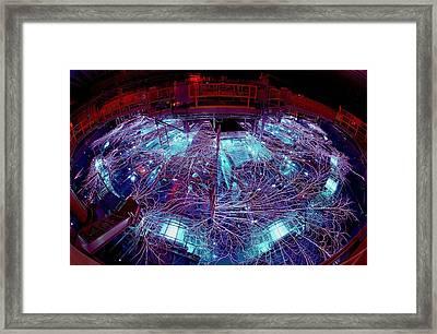 Sandia National Laboratorys Z Machine Framed Print by Everett