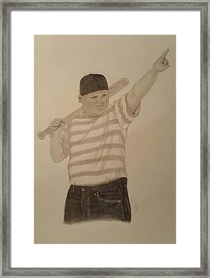 Sandlot Sultan  Framed Print