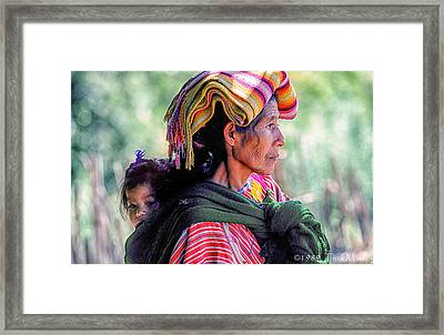 Sandra And Francisca Framed Print