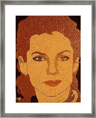 Sandra Bullock Framed Print by Kovats Daniela