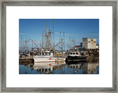 Framed Print featuring the photograph Sandra M And Lasqueti Dawn by Randy Hall