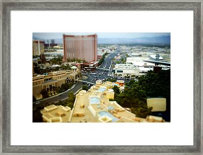 Sands And The Strip Framed Print