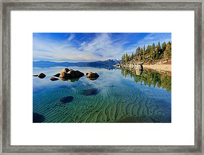 Sands Of Time 2 Framed Print by Sean Sarsfield