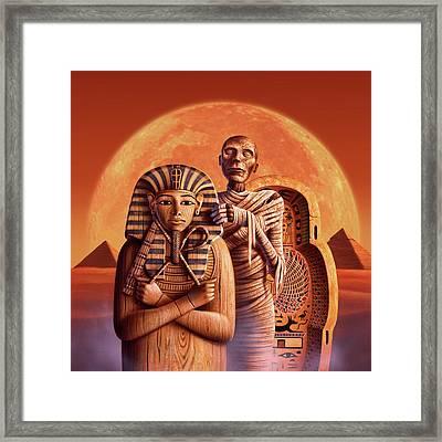 Sands Of Time Framed Print