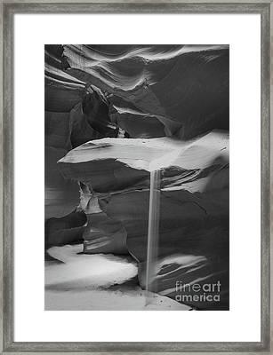 Sands Of Time Framed Print by Jim Chamberlain