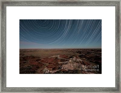 Sands Of Time Framed Print by Melany Sarafis