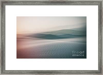 Sands Sunset Framed Print