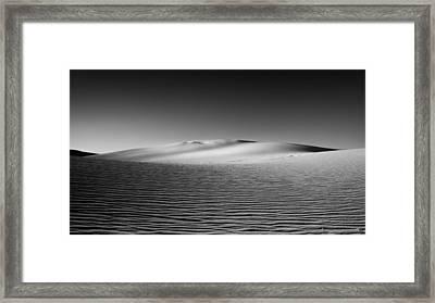 Sandscape Framed Print by Joseph Smith