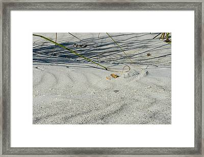Sandscapes Framed Print