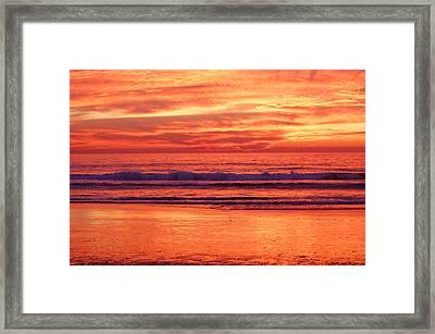 Sandshine Framed Print by Jean Booth