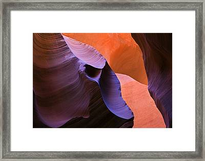 Sandstone Apparition Framed Print by Mike  Dawson
