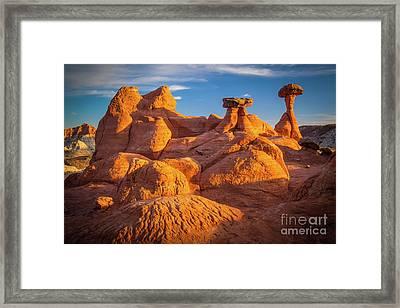 Sandstone Castle Framed Print