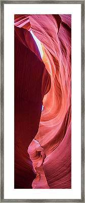 Framed Print featuring the photograph Sandstone Collection 2 Lines by Brad Scott