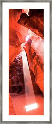 Framed Print featuring the photograph Sandstone Collection 3 Heart Chamber by Brad Scott