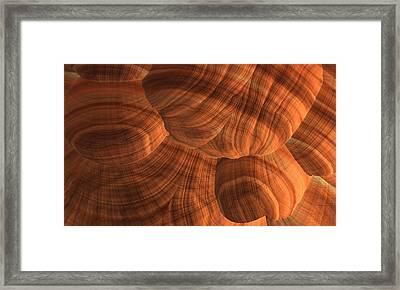 Sandstone Framed Print by Lyle Hatch