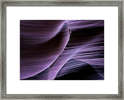 Sandstone Symphony Framed Print by Mike  Dawson