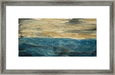 Sandstorm Framed Print by Holly Anderson