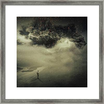 Sandstorm Framed Print