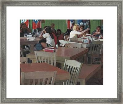 Sandwich Shop Framed Print by David Clemons