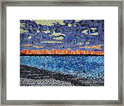 Sandy Neck Beach Framed Print by Micah Mullen