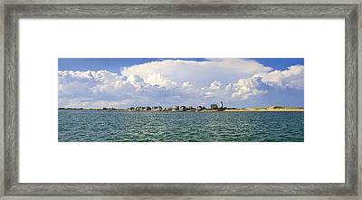 Sandy Neck Cottage Colony Framed Print