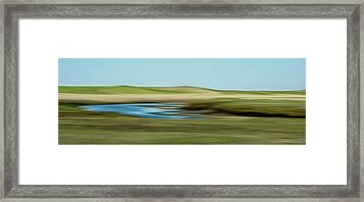 Sandy Neck Saltmarsh Framed Print